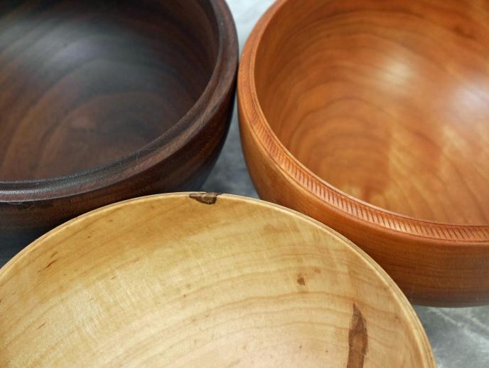 Little Wooden Bowls