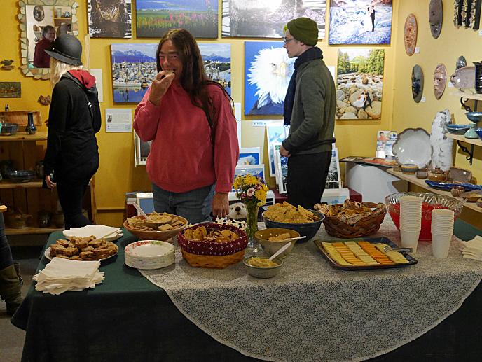 Ptarmigan Arts Gallery Reception