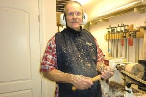 Ted Heuer, woodturner