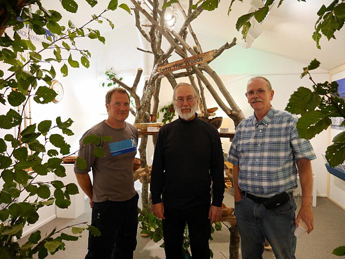 Three Ptarmigan Arts Woodworkers