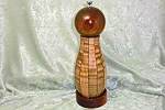 Turned Wooden Peppermill