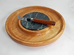 Alder Cheeseboard with Cocobolo Knife