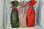 Set of 3 Wine Bottle Bags