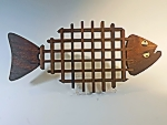 Walnut Halibut Trivet