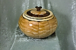 Quilted Maple and Black Walnut Stave Bowl