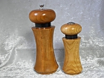 Cherry Pepper Mill and Salt Shaker Set