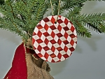 Maple and Bloodwood Ornament
