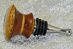 Black Ash Burl Wine Stopper
