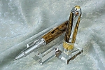 Spalted Tiger Oak Rollerball Pen