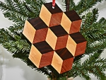 Tumbling Blocks Ornament