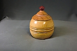 Turned Lidded Box Maple