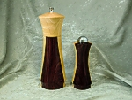 Maple and Cocobolo Shaker Set