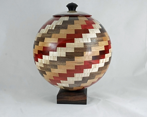 Segmented Sphere with Base