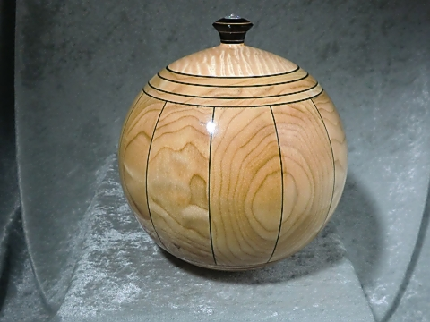 Turned Stave Bowl