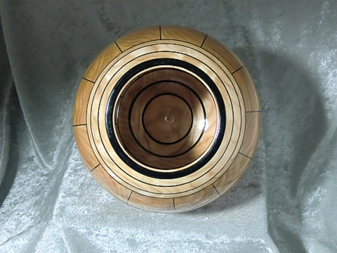 Quilted Maple Stave Bowl