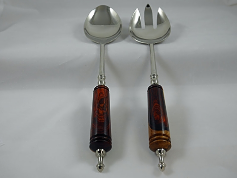 Serving Fork and Spoon Set