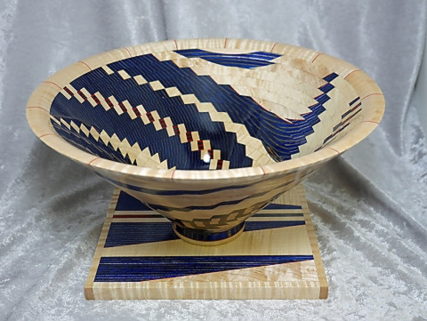Dizzy Bowl with Matching Base