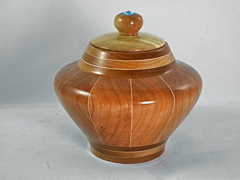 Cherry and Maple Pet Urn
