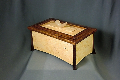 Koa and Birdseye Maple Box