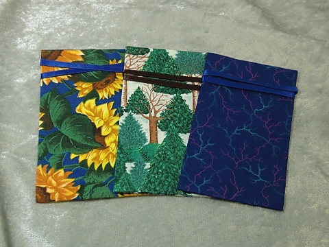 Reusable Gift Card Bags