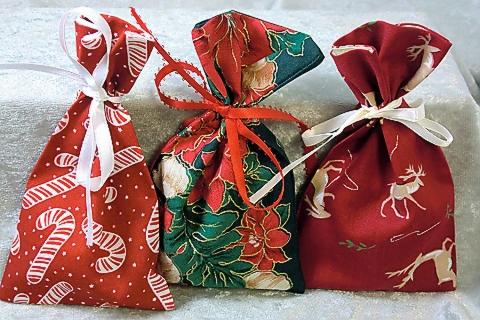 Three Gift Card Bags