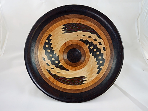 Wenge Rim on Dizzy Bowl