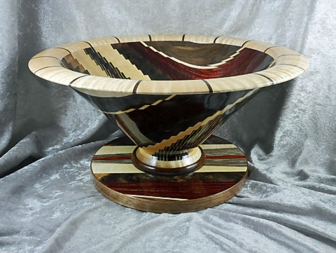 Dizzy Bowl with Separate Base