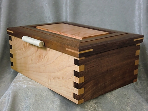 Finger Jointed Maple Box