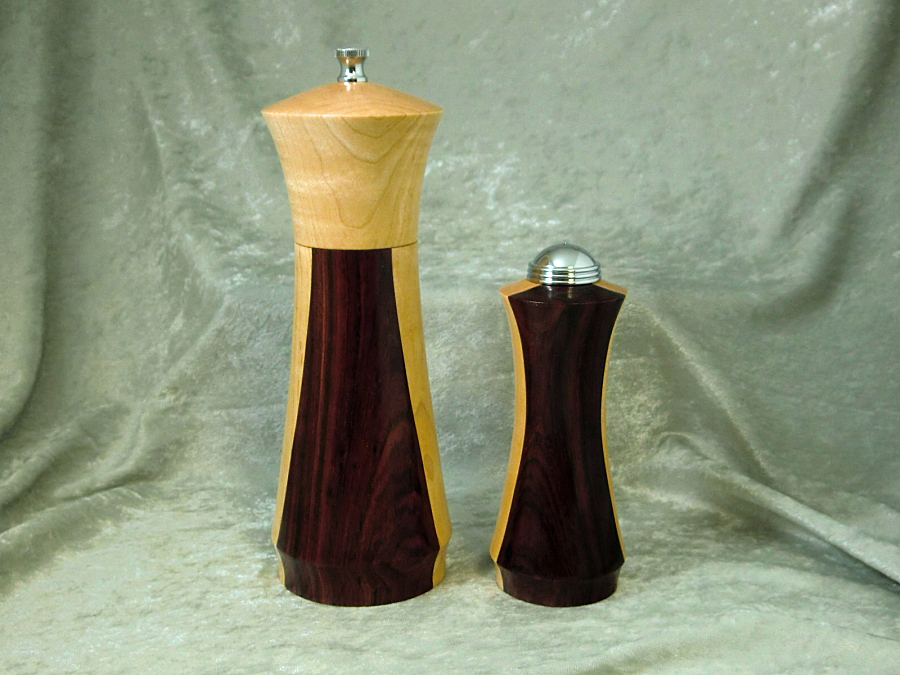 pepper mill and salt shaker set ted 39 s woodshop. Black Bedroom Furniture Sets. Home Design Ideas